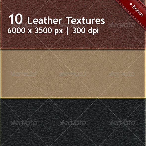 10 Lether Textures