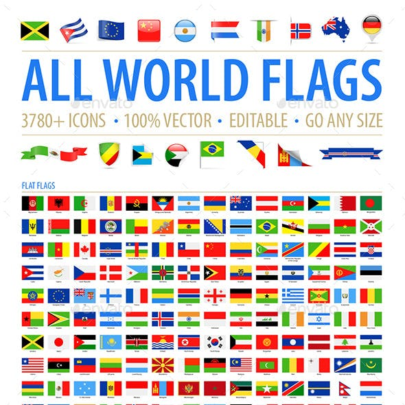 All World Flags - Grand Collection