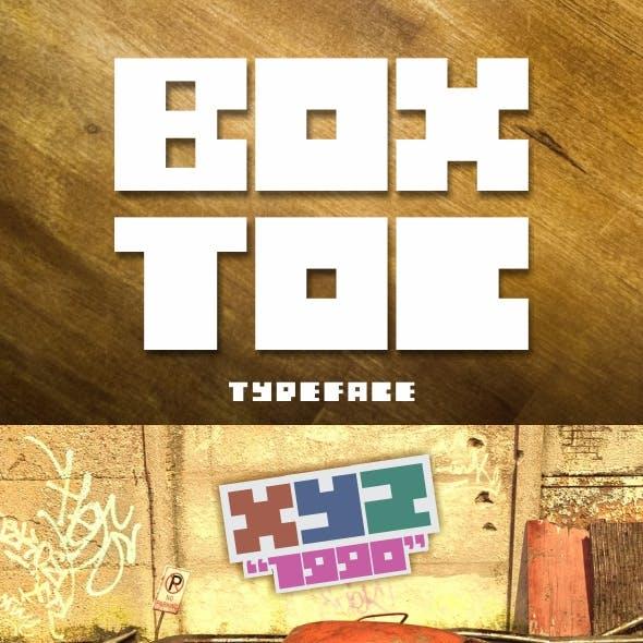 BOXTOC Typeface