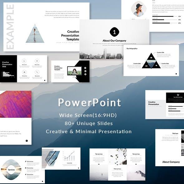 Element - PowerPoint Presentation Template