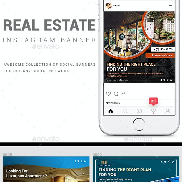 Real Estate Promotional Instagram Pack