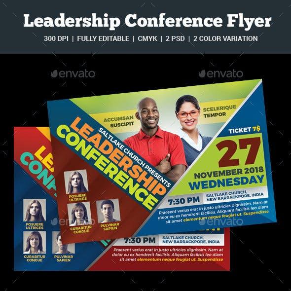 Leadership Conference Flyer