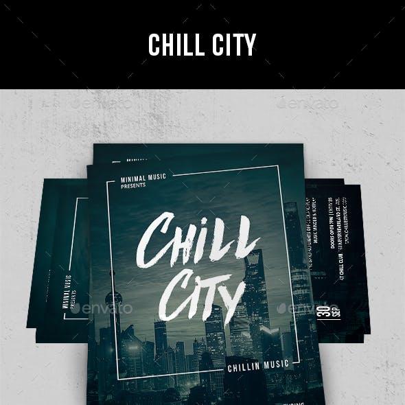 Chill City - Flyer