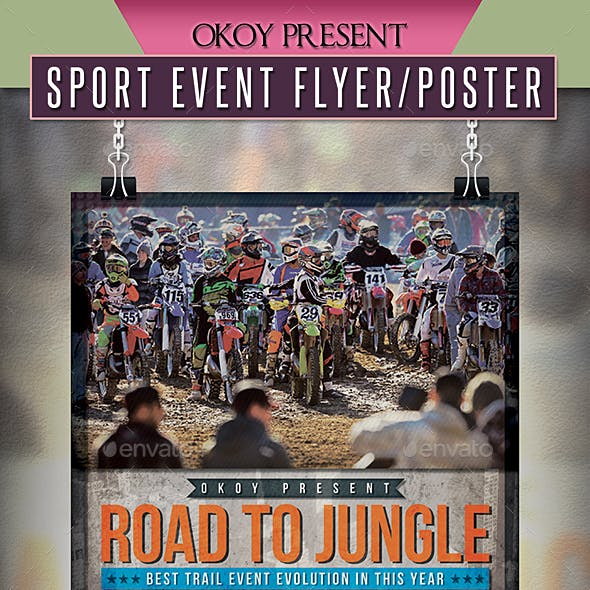 Sport Event Flyer / Poster