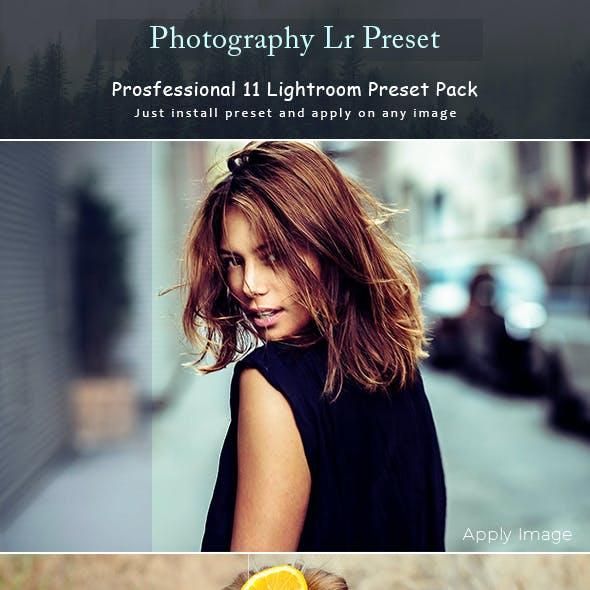 Photography Lr Preset