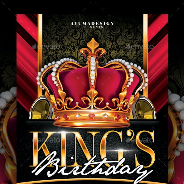 Kings Birthday Flyer