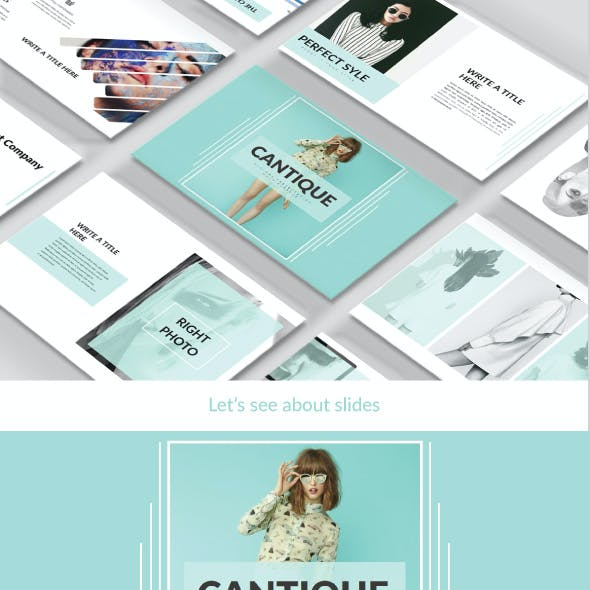 Cantique Keynote Multipurpose Template