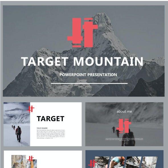 Target Mountain Presentation Templates