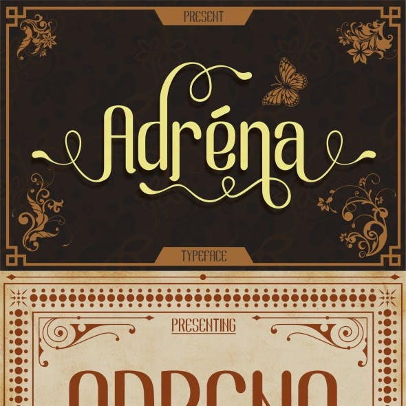 Serif Type & Stencil Fonts from GraphicRiver
