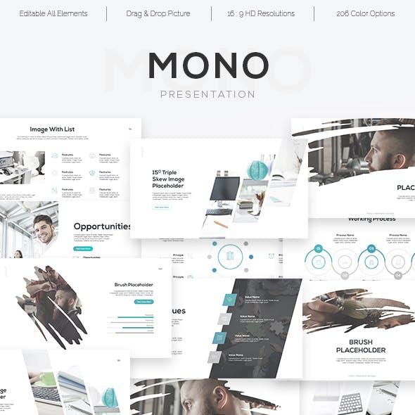 Mono - Minimal Theme