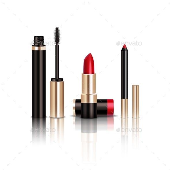 Makeup Items Set
