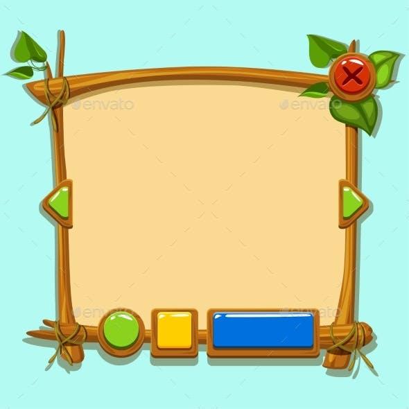Cartoon Design Interface