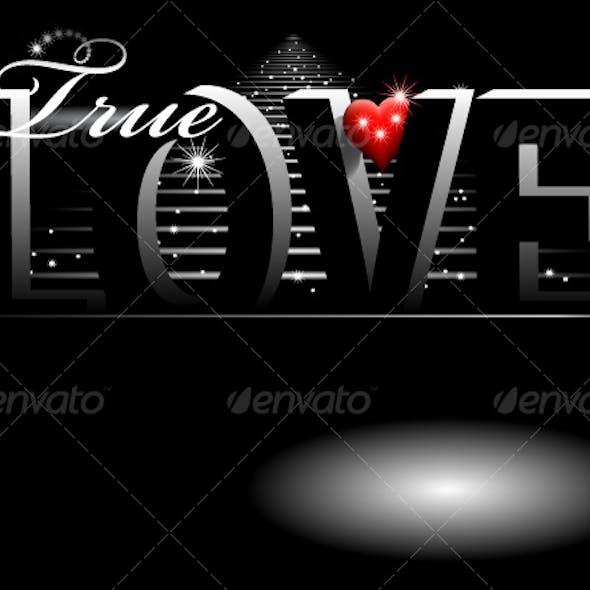 true love backgournd