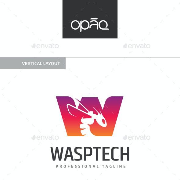 Wasp W Letter Logo
