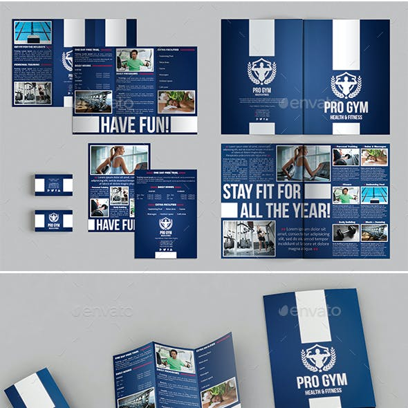 4 Pages Brochure + Trifold + Business Card
