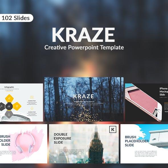 Kraze - Creative Google Slide Template