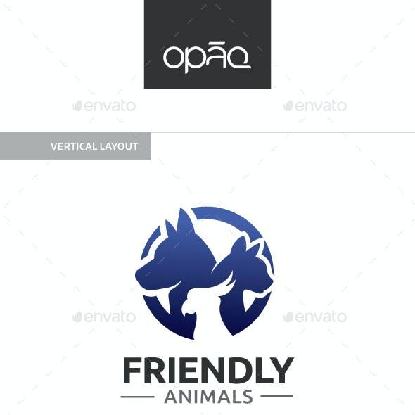 Friendly Animals Logo