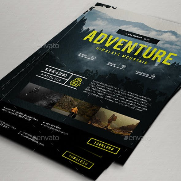 Travel / Adventure Package Flyer