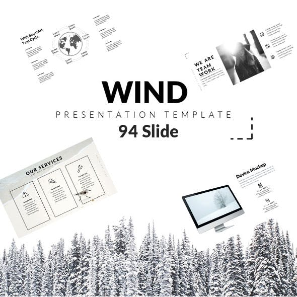 Wind - Creative PowerPoint Template