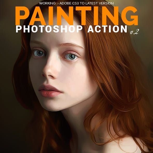 Painting Photoshop Action v.2