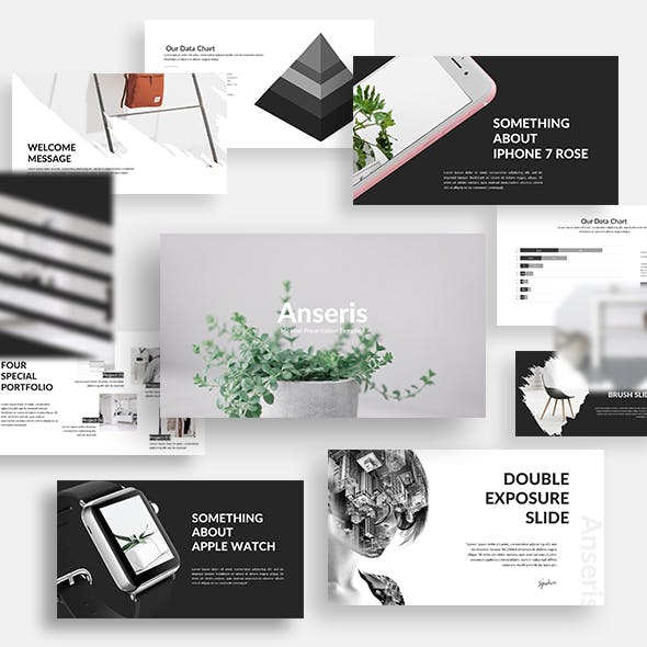 Anseris - Minimal Powerpoint Template