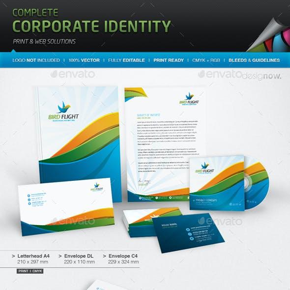 Corporate Identity - Bird Flight