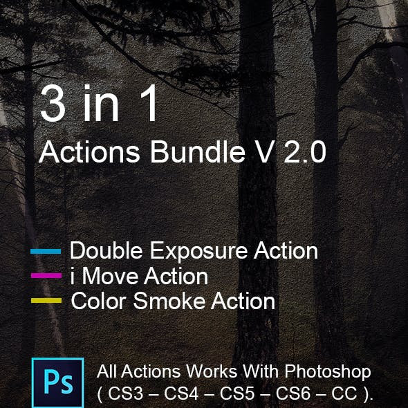 3 in 1 Actions Bundle V 2.0