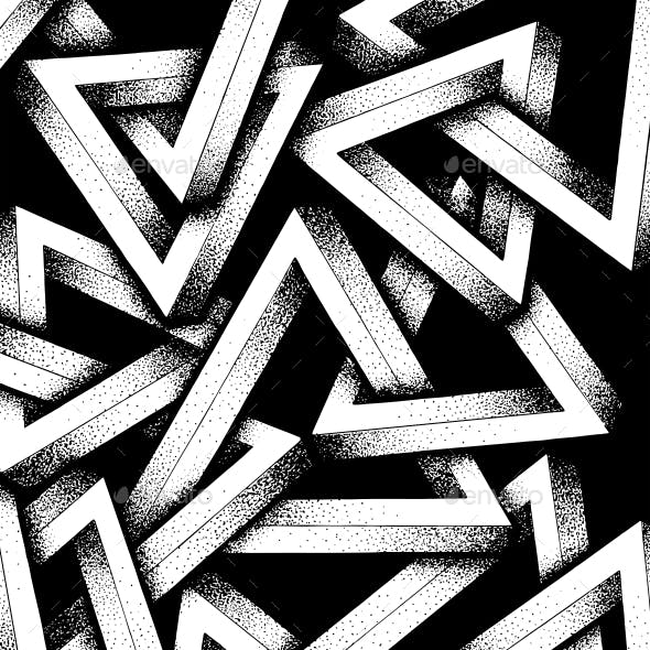 Impossible Penrose Triangles Illustration
