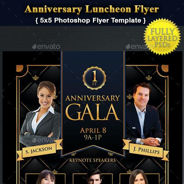 1st Anniversary Gala