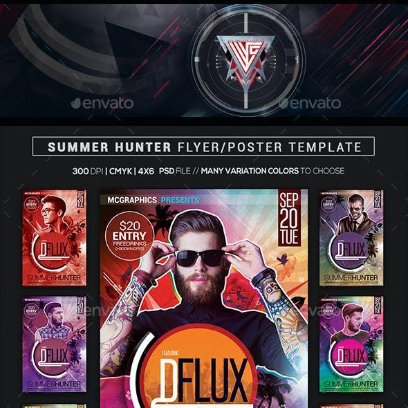 Summer Hunter Flyer/Poster Template