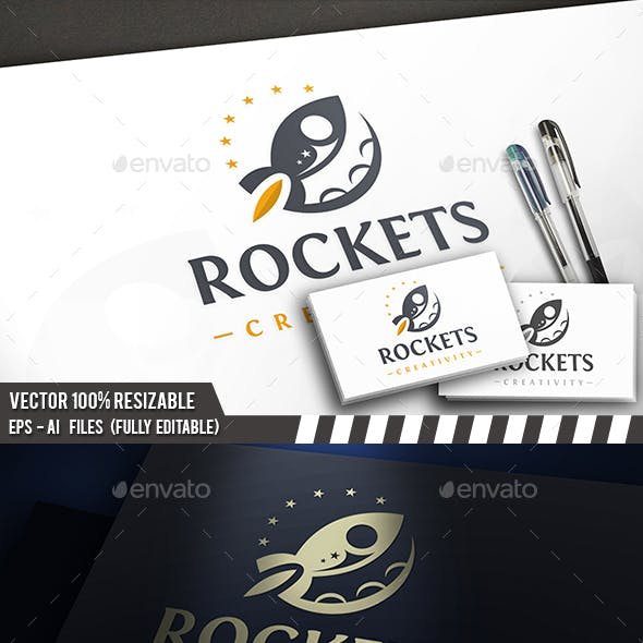 Rocket Space Logo