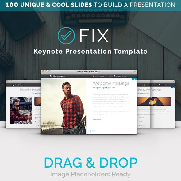 FIX - Keynote Multipurpose Presentation Template