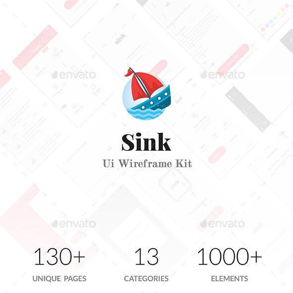 Sink Wireframe Ui Kit