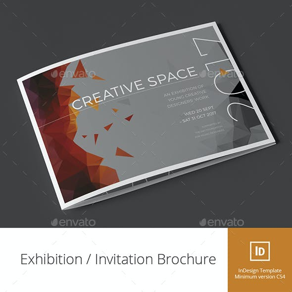 Exhibition / Invitation Brochure