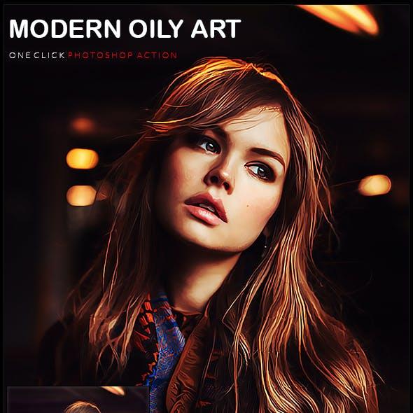 Modern oily art