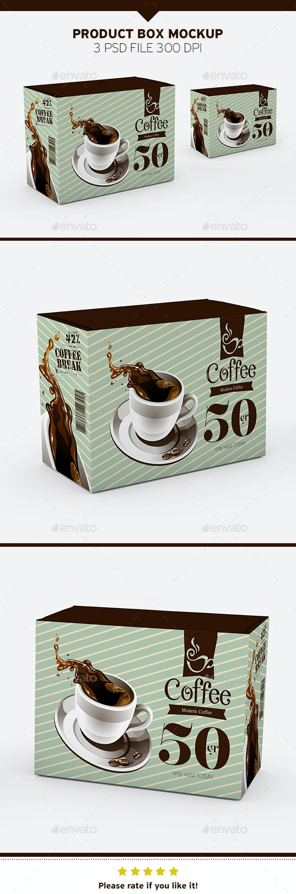 Product Box Mockup - Product Mock-Ups Graphics