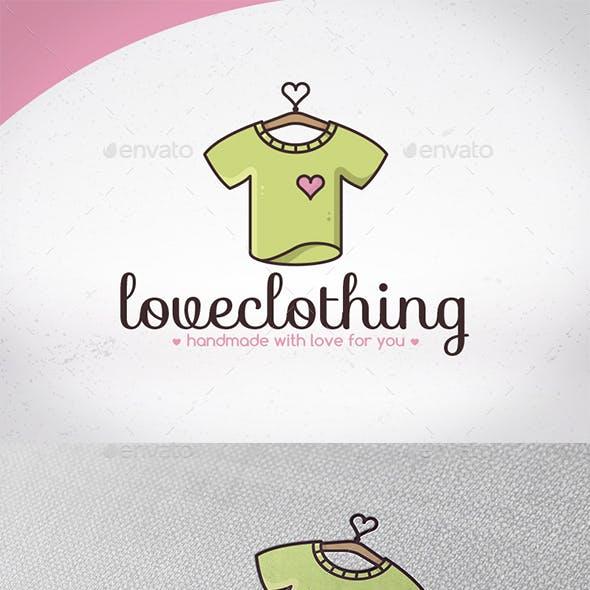 Love Clothing Logo Design