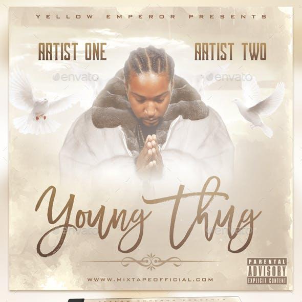 Young Thug Album Cover - PSD Templates