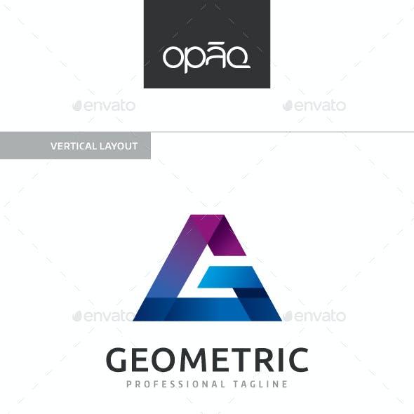 Geometric G Letter Logo