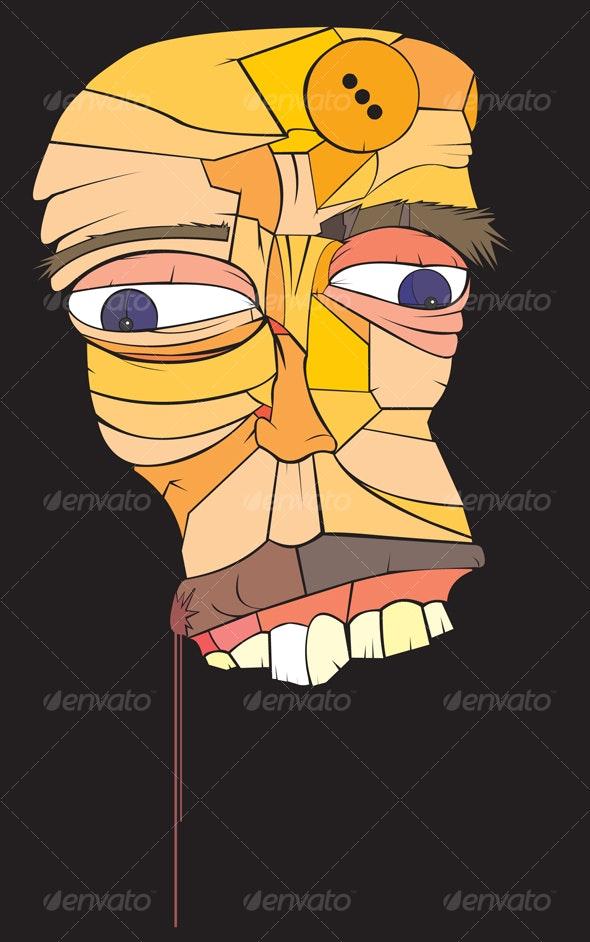 Block Head - Characters Vectors