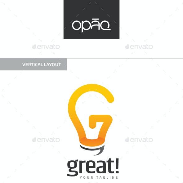 G Letter Bulb Logo