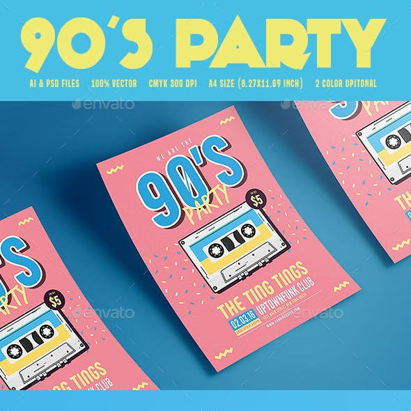 90's Music Party