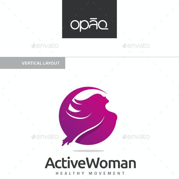 Active Woman Logo