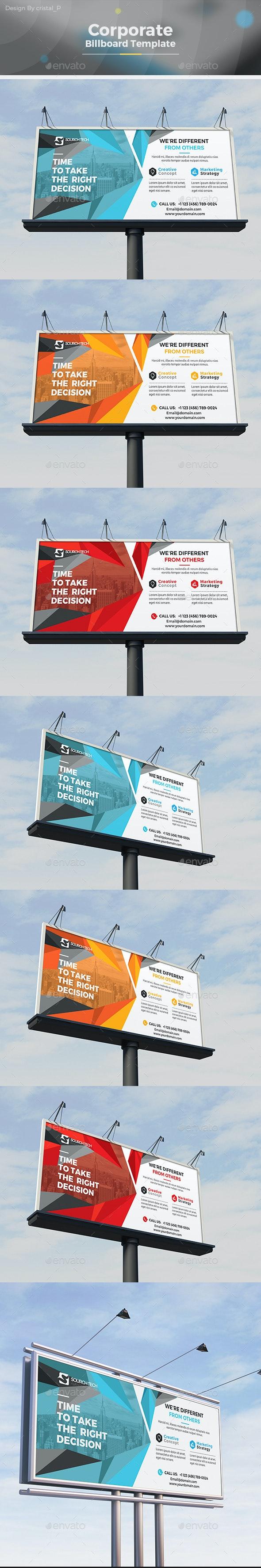 Billboard Template - Signage Print Templates