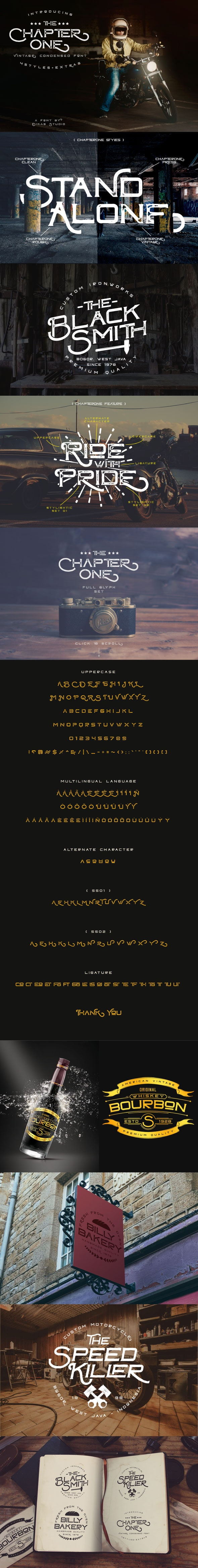 ChapterOne - 4 Styles - Grunge Decorative