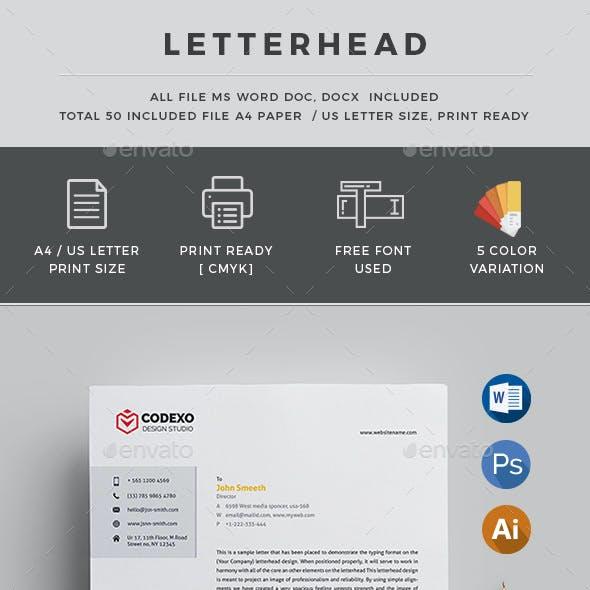 Color Letterhead