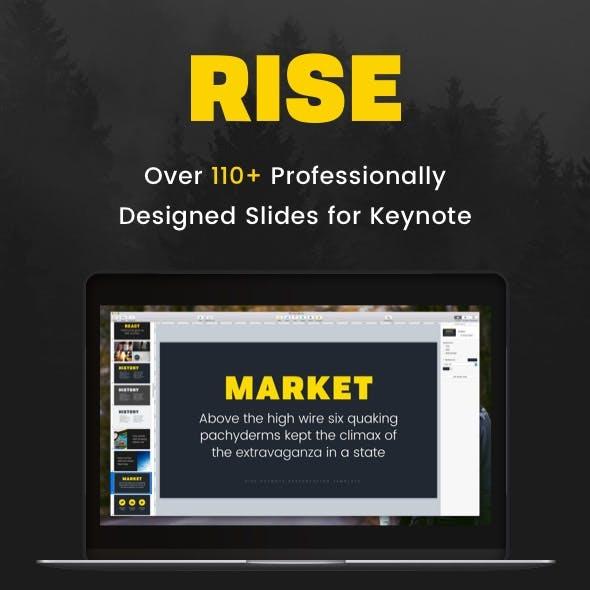 Rise - Keynote Presentation Template