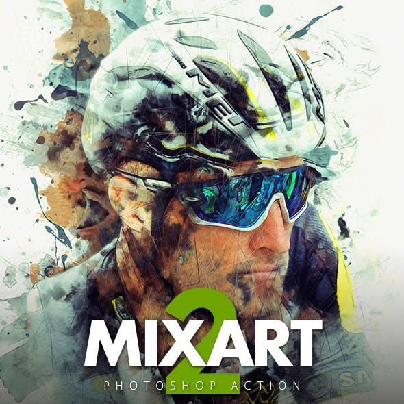 Mixart 2 Photoshop Action