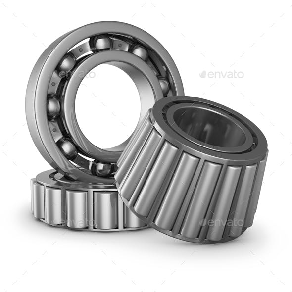 The various bearings