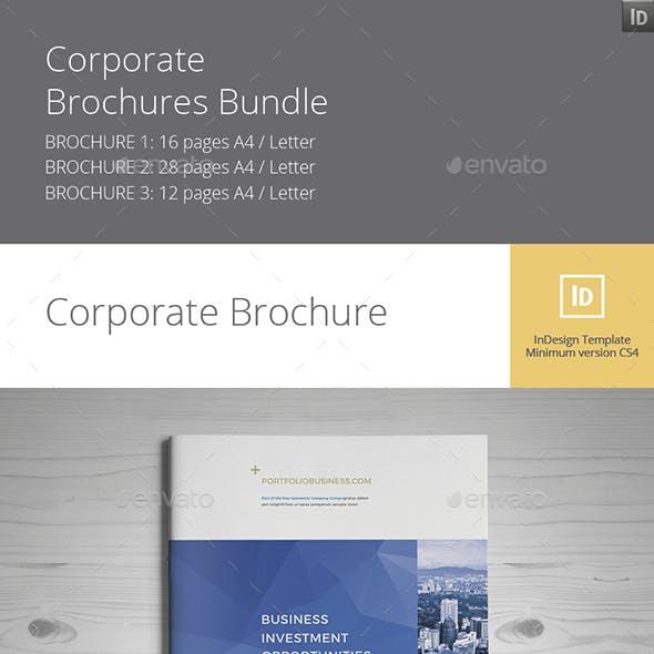 Corporate Brochures Bundle